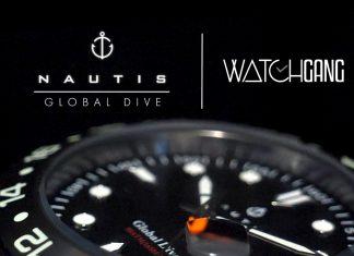 nautis global dive watch