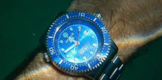 Submerged Waterproof Watch