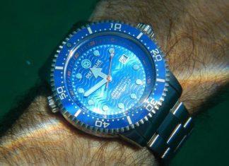 Submerged Waterproof Watch