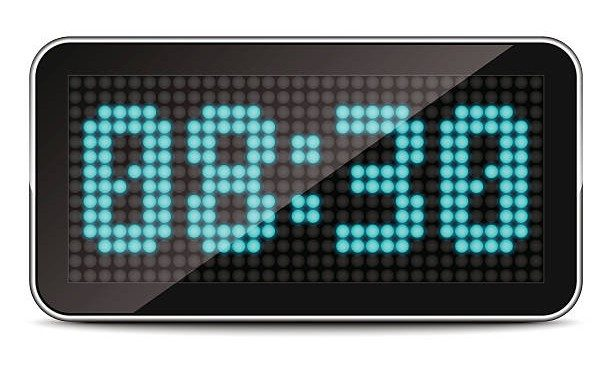 clock digital display