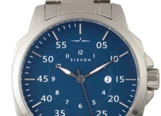 Elevon Hughes Collection Steel Watch
