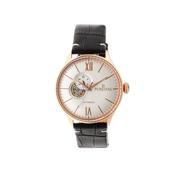 Puredial - Spacecompass Leather Watch