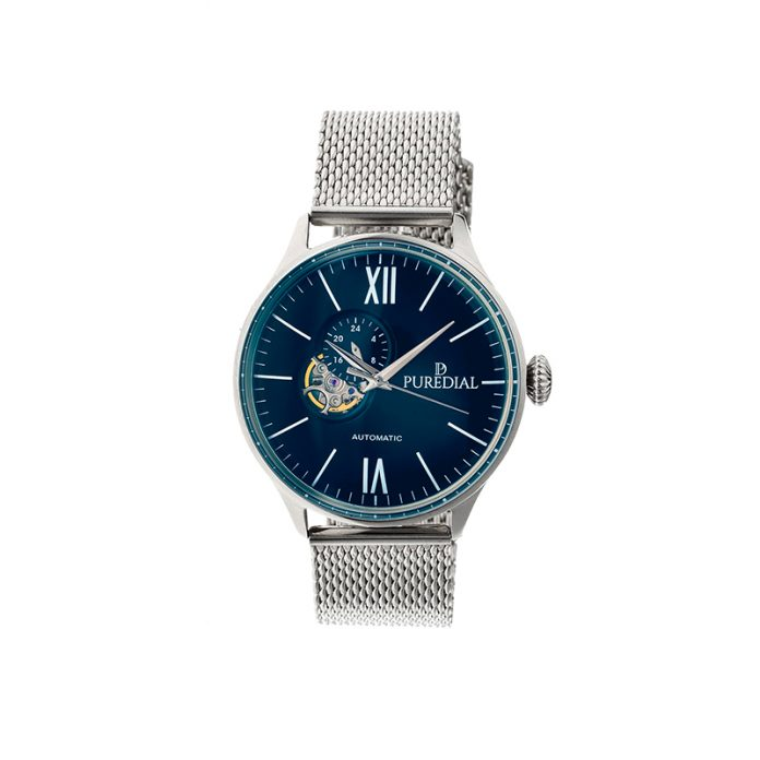 Puredial - Spacecompass Steel Mesh Watch