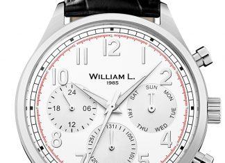 William L. 1985 • Vintage Style Calendar